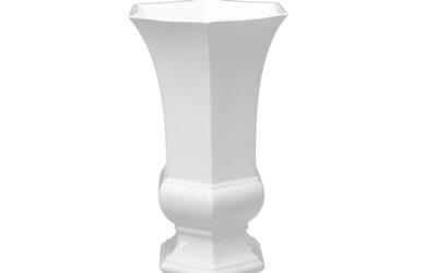 Vase sechseckig