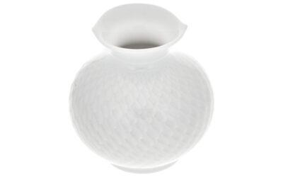 Vase Wellenspiel mit Relief