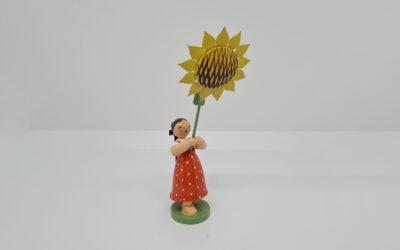 Mädchen mit Sonnenblume