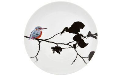 Wandteller Kingfisher Flying Jewels