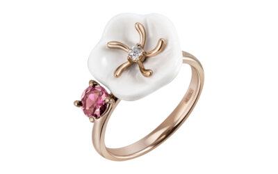 Ring Turmalin Rosa 750 Roségold