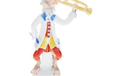 Affenmusiker / Trompete Sammeledition