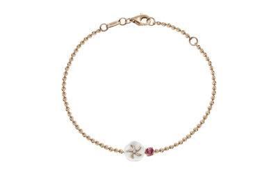 Armband Turmalin Rosa 750 Roségold